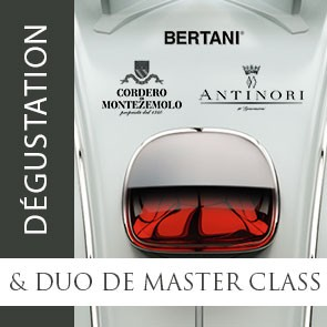 PASS Dégustation Panorama Grands Vins Italiens + Duo de MASTER CLASS