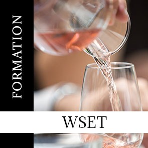 Formation WSET Level 2 in Wines & Spirits : Lundi 17, Mardi 18 et Mercredi 19 septembre 2018